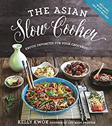 "cover of ""The Asian Slow Cooker""  by Kelly Kwok"