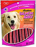 Carolina Prime Pet 40192 Salmon Jerky Treat For Dogs ( 1 Pouch), One Size (packaging may vary)