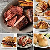 Premium Sirloin Grill Pack from Omaha Steaks (Top Sirloins, Omaha Steaks Burgers, Kielbasa Sausages, Potatoes au Gratin, Caramel Apple Tartlets, Boneless Chicken Breasts, and more)