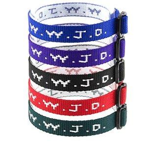 Yleena 50 WWJD Bracelets