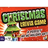 Christmas Trivia Game - Fun Holiday Questions Game Featuring 1200 Trivia Questions - Ages 12+