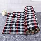Wakewell Cotton Single Bed, Foldable, Light Weight Mattress Soft Medium Gadda (Multicolour, 1 Sleeping Capacity, 3 x 6 ft or 72 x 36 Inch)