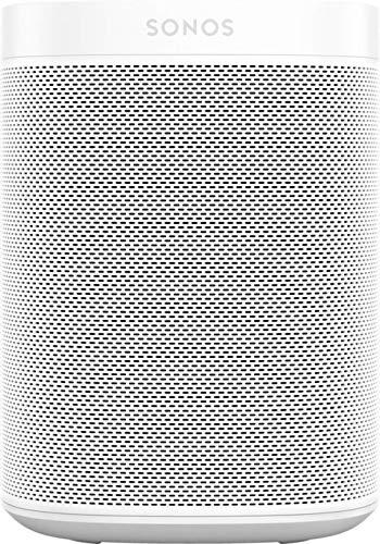 Sonos One SL All-In-One Smart Speaker (Kraftvoller WLAN Lautsprecher mit App-Steuerung und AirPlay 2 – Multiroom Speaker für unbegrenztes Musikstreaming) weiß