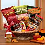 Spice Up your Life Salsa and Chips Gift Basket | Makes a Great Fathers Day or Birthday Gift