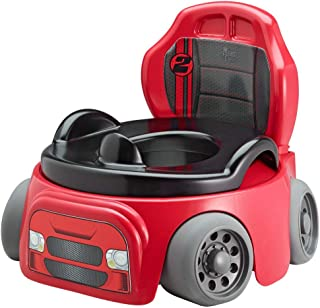 The First Years Training Wheels Racer Potty System Easy to Clean & Easy to Use Potty..