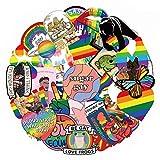 CHENX Autocollant de Bande dessinée Gay Bagages Moto Levier boîte Cahier Autocollant...