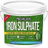 Sulfate de fer en poudre - Sec - De première qualité - 2,5kg - Antimousse et...