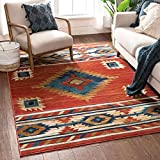 Well Woven Lizette Red Traditional Medallion Area Rug 5x7 (5'3' x 7'3')
