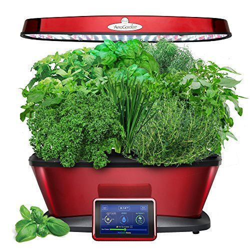 AeroGarden Classic 9 Elite, Red