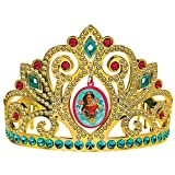 amscan Electroplated Tiara, Disney Elena of Avalor Collection, Party Accessory One Size, Multicolor