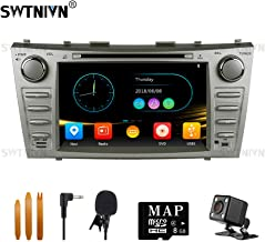 SWTNVIN Car Stereo for 2007 2008 2009 2010 2011 Toyota Camry,Double Din 8 Inch in Dash..
