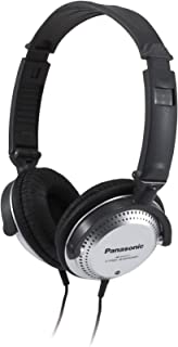 PANASONIC Stereo Headphones with XBS Port, Integrated Volume Controller and Lightweight..