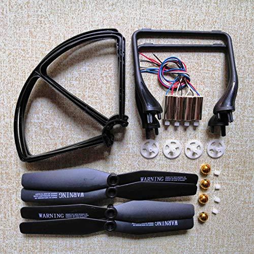 HUANRUOBAIHUO for JJRC H68 A20 A8 YidaJia D68 Quadcopter Drone Set Accessori Motori Eliche Pattino...