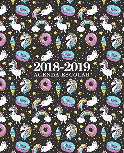 Agenda escolar 2018-2019: 190 x 235 mm: Agenda 2018-2019 semana vista español: 160 g/m²: Agenda se