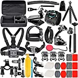 Neewer 50-In-1 Kit di Accessori per Action Camera Compatibile con GoPro Hero9/ Hero /Hero7, GoPro Max, GoPro Fusion, Insta360, DJI Osmo Action, AKASO,...