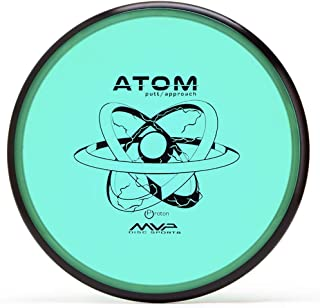 MVP Disc Sports Proton Atom Disc Golf Putter (Colors May Vary)