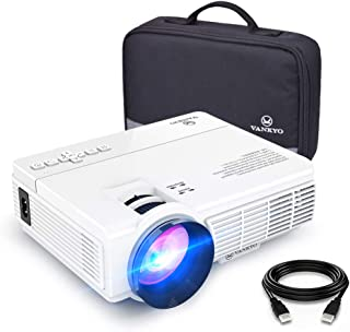 VANKYO LEISURE 3 Mini Projector, 1080P and 170'' Display Supported, Portable..