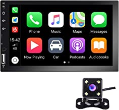 Hikity Double Din Car Stereo 7 Inch HD Touch Screen Radio Bluetooth FM Receive with..