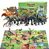 TICE Jouets de Dinosaure Cadeau pour Garçons Enfants, Figurines de Dinosaure...