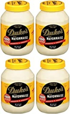Duke's Real Mayonnaise, 32 oz (Pack of 4)
