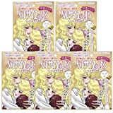 Creer Beaute The Rose of Versailles Oscar & Rosalie Face Mask (GOLD) X 5 Sheets