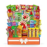 Mexican Candy Assortment Snacks (45 Count), Variety Of Spicy, Sweet, Sour Bulk Candies