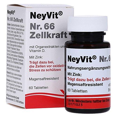 NEYVIT Nr.66 Zellkraft magensaftres.Tabletten 60 St Tabletten magensaftresistent