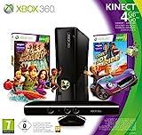 Console Xbox 360 4Go + Kinect + Kinect adventures ! + Kinect Joy Ride