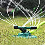 Lawn sprinkler Rotary Three Arm Lawn, Sprayer Water Sprinkler