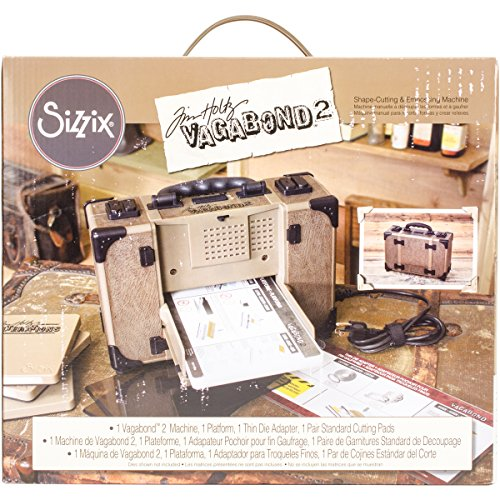 Sizzix Tim Holtz Vagabond 2 Electric Die Cutting Machine 660855, 6'...