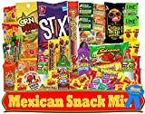 BEST Mexican Candy Assortment Snacks (50 Count), Variety Of Spicy, Sweet, Sour Candies and Snacks | Includes Lucas, Pelon, Vero Lollipops, Pulparindo and More