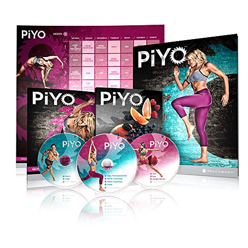 Chalene Johnson's PiYo Base Kit - DVD Workout with Exercise Videos + Fitness Tools and Nutrition Guide 1