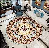 WJY Tapis Rond Coiffeuse Chambre Salon Vestiaire Moquette Table D'ordinateur...
