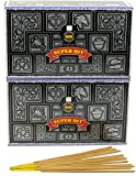 Nag Champa SuperHit Barras de incienso, 24 Packs