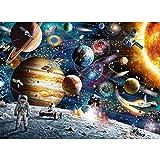 CofunKool 1000 Pièces Scie Sauteuse Puzzle pour Adultes (Planètes Spatiales)