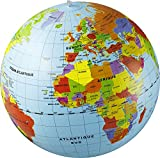 Caly Sarl - 019F - Globe Gonflable Monde - Taille...
