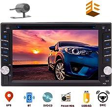 EINCAR Double DIN Car Stereo GPS Navigation Car DVD CD Player in Dash Bluetooth Head Unit..