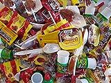 Glam Lux Bundle Mexican Classics Candy & Snacks Assortment Over 300 Pieces Vero Mango Suckers, Pelon Pelo Rico, Rellerindos, Pica goma, Tamarind cucharita, Duvalin & Pulparindo and FREE gift included!
