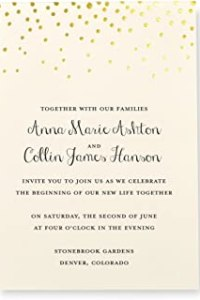 Best Wedding Invitations of November 2020