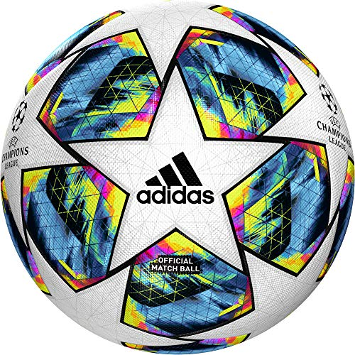 adidas Performance Fußball Spielball Finale OMB Weiss (100) 5