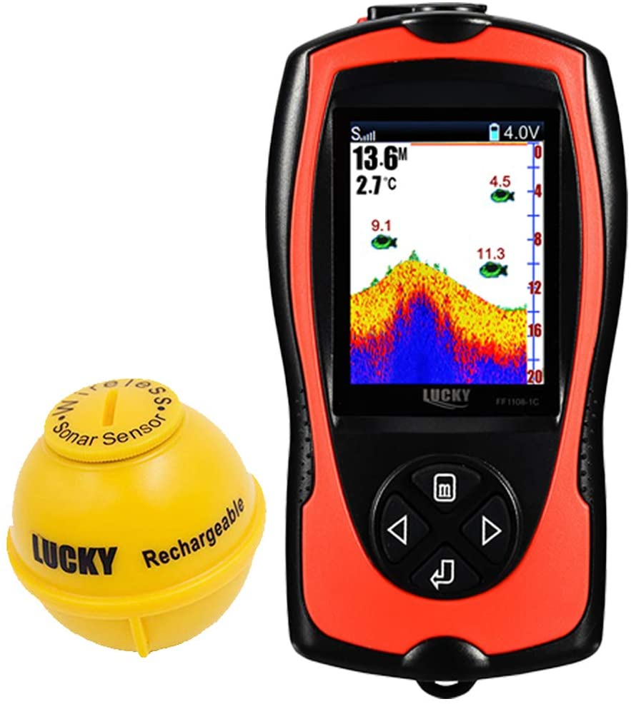 LUCKY Portable Fish Finder review