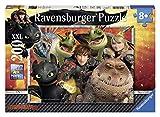 Ravensburger - 12812 9 - Puzzle - Harold, Astrid et Les Dragons - 200 Pièces