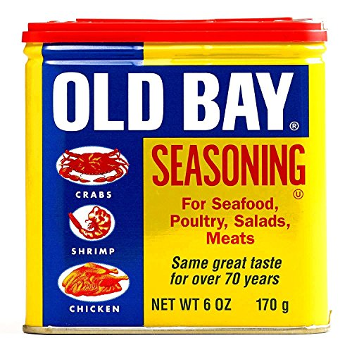 Old Bay Seasoning 6 oz each (1 Item Per Order)