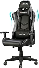 Hbada Gaming Chair Racing Style Ergonomic High Back Computer Chair with Height..