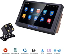Keleda 7001 Double Din Car Stereo with Backup Camera, Auto GPS Navigation System for..