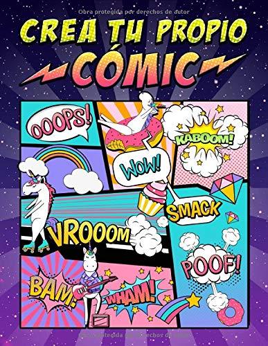 Crea tu propio cómic: 100 originales plantillas de cómics