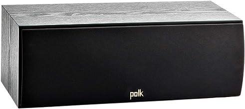 Polk Audio T30 100 Watt Home Theater Center Channel Speaker – Hi-Res Audio with..