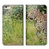 (ティアラ)Tiara iPhone 11 Pro iPhone11Pro スマホケース 手帳型 ベルトなし PHOTO 豹 アニマ……