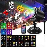 Projecteur Noel Exterieur, TOGAVE 18 Motifs Lampe Projecteur LED avec...