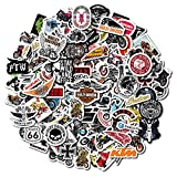 [179Pcs, Motorcycle Brands Stickers] Motorcycle Stickers Pack, Helmet Stickers, Motorcycle Helmet Stickers, Waterproof Stickers and Decals, Men Bike Stickers, Adult Stickers for Men